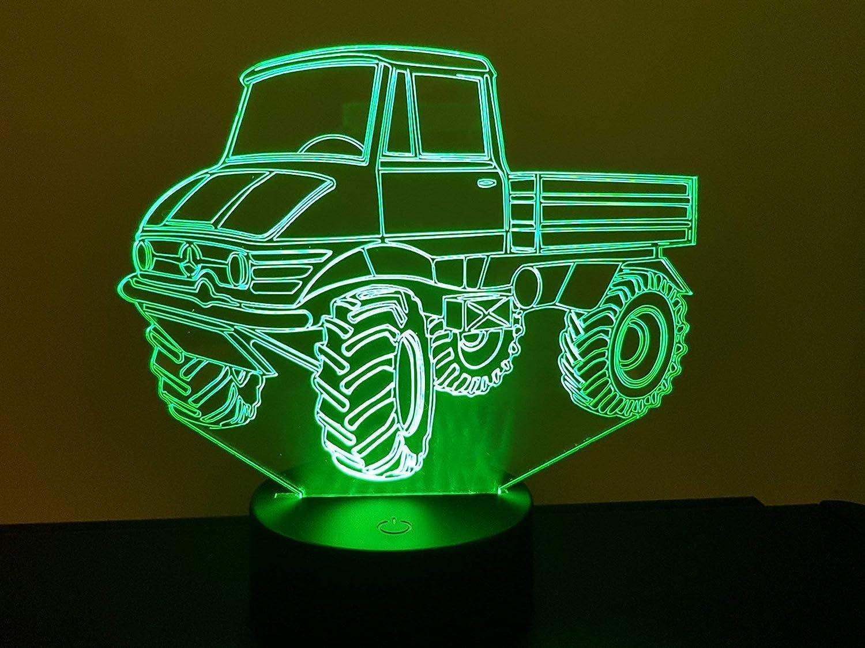 Lampe 3D Motif: Mercedes Unimog