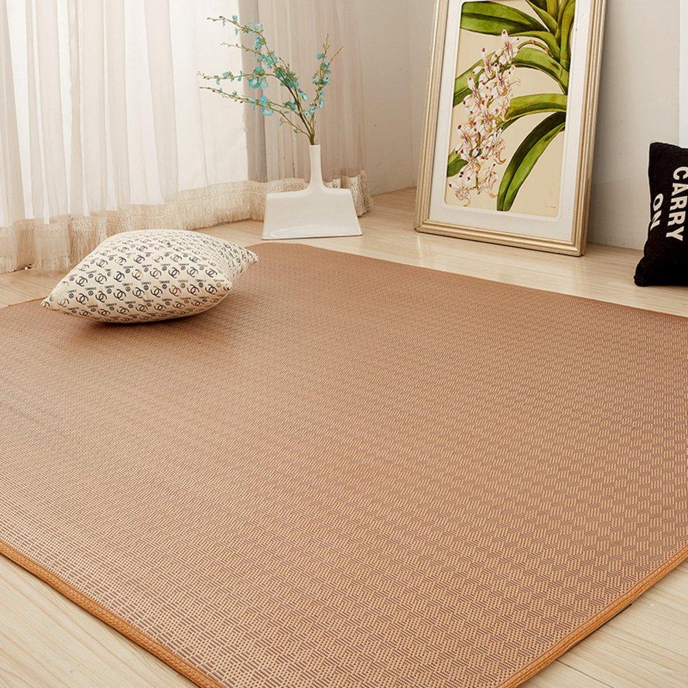 LIUZEIMIN Im japanischen stil matte,Sommer-baby-crawling-matte Matt mat Rattan-sitzkissen-D 80x200cm(31x79inch)