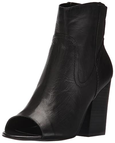 Steve Madden Women's Veronah Boot, Black Leather, ...