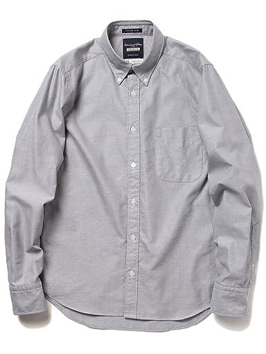 Oxford Buttondown Shirt 11-11-2504-107: Grey