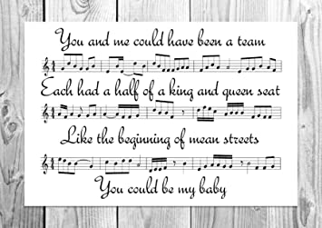 Arctic Monkeys - Calcetines de Rodilla - Song Sheet - Póster de Unique Art: Amazon.es: Hogar