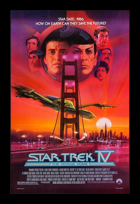 Wallspace Star Trek IV The Voyage Home - 11x17 Framed Movie Poster