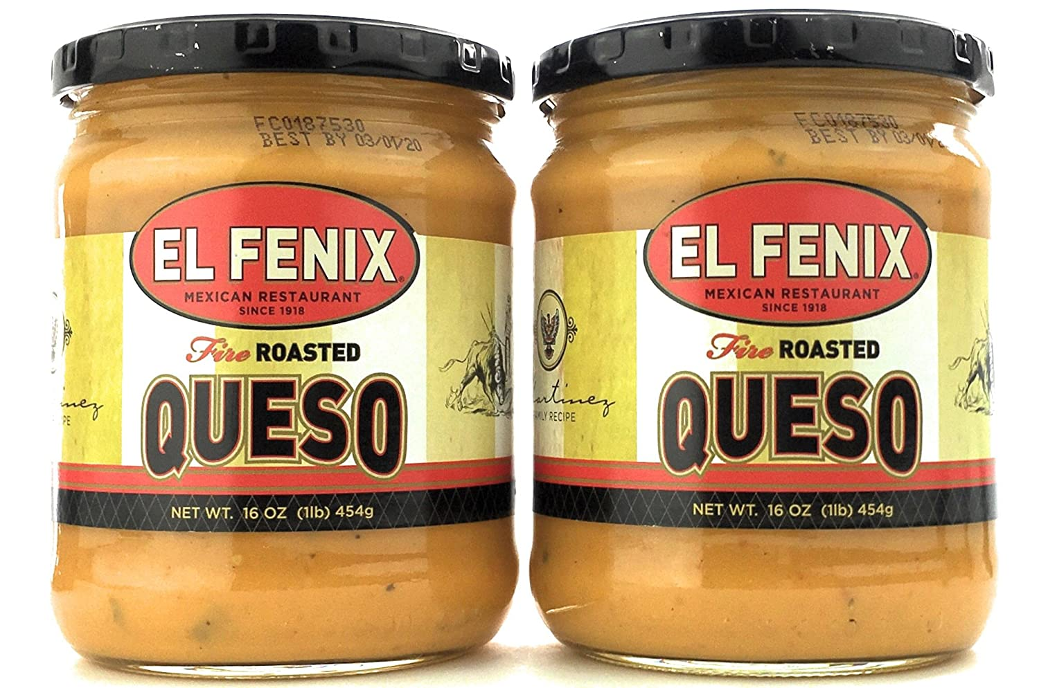 El Fenix Fire Roasted Queso 16 Oz (Pack of 2): Amazon.com: Grocery & Gourmet Food