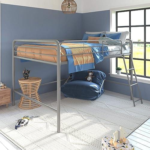 DHP Junior Full Metal Loft Bed