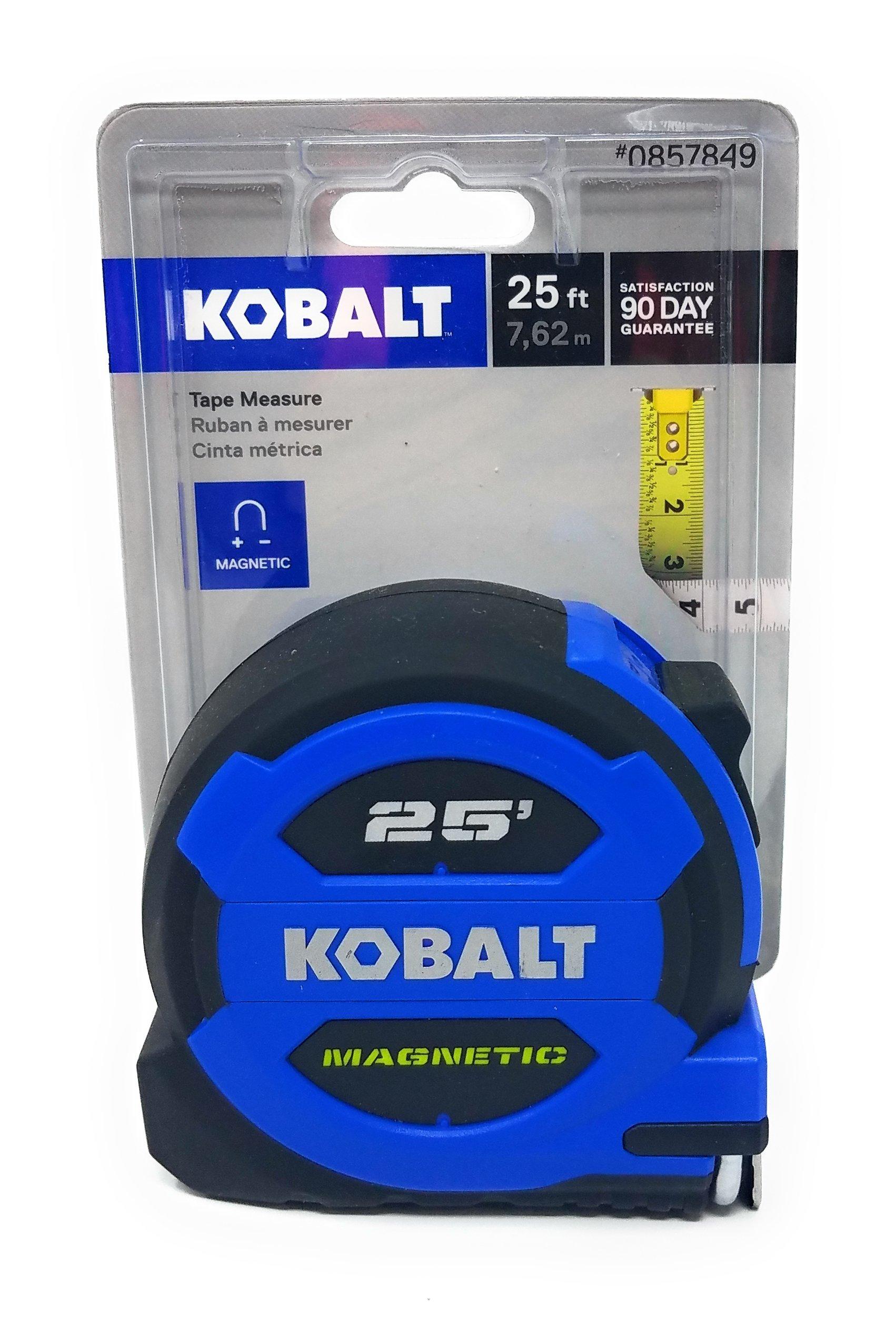 Kobalt 25' Magnetic Tape Measure and Tesadorz Microfiber Cloth by Kobalt, Tesadorz (Image #2)