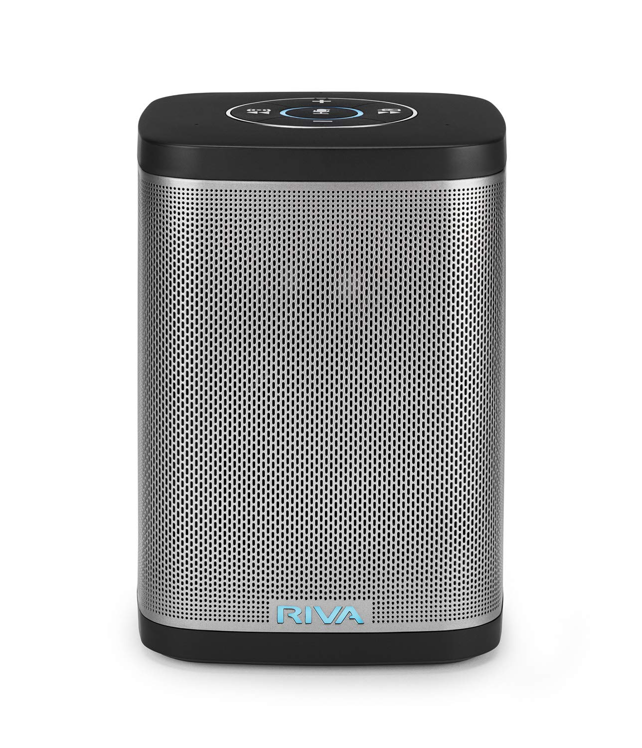 RIVA Concert with Alexa Built-in - Finally A Wireless Smart Speaker That Sounds Truly Amazing - WiFi, Airplay and Bluetooth Connectivity, Splash Resistant and Optional Battery (Black) by RIVA
