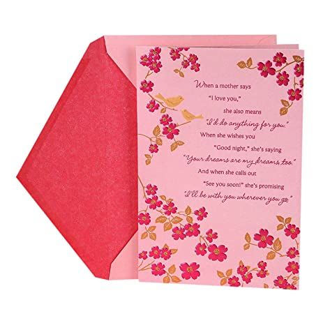 Amazon Hallmark Mothers Day Greeting Card Truly Great Mom