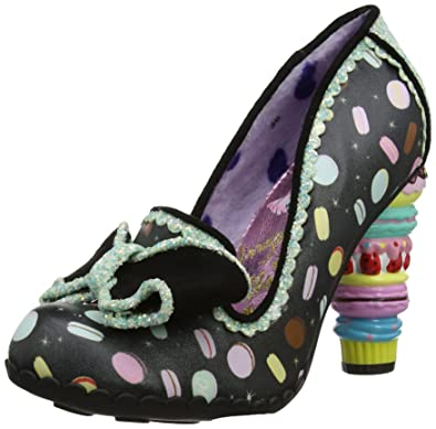 Irregular Choice Escarpins Bout fermé Femme - Noir - Noir (Black C), 37
