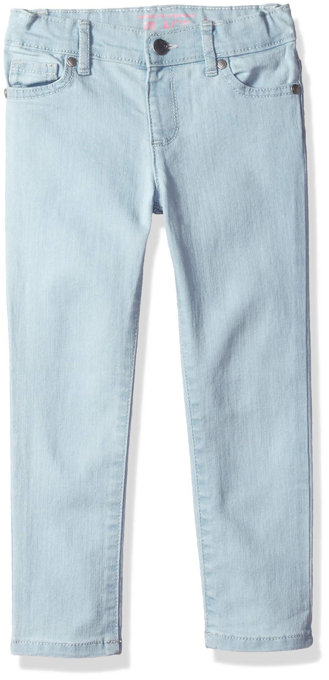 The Children's Place Girls Baby Skinny Jeans, Sky