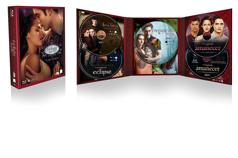 Pack Crepúsculo - Saga Completa Blu-Ray 2016 Blu-ray: Amazon.es ...