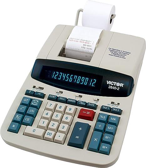 Amazon com : Victor 26402 Two-Color Printing Calculator