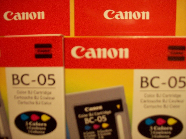 Twin pack Genuine Canon BC-05 Color Printer Cartridges 0885A003 for printers BJC-200 /& BJC-1000 in original Holograph Logo Box