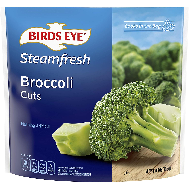 Birds Eye Steamfresh Broccoli Cuts, Frozen Vegetable, 10.8 OZ