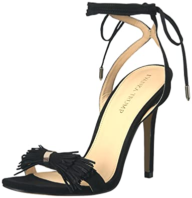 Ivanka Trump Women's Hethal Heeled Sandal, Black, ...
