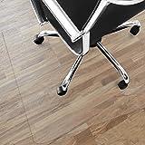 Tapis protège-sol Office Marshal® NEO pour parquets, stratifiés | 9 tailles | transparent en vinyle | épaisseur env. 1,5mm | 90x120cm