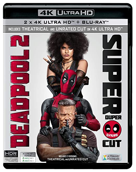 Amazon in: Buy Deadpool 2 + Super Duper Cut (Unrated) (4K UHD & HD