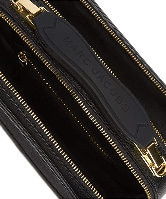 0548749ad Marc Jacobs Women's The Box 20 Pebbled Leather Bag One Size Black: Amazon.co .uk: Shoes & Bags