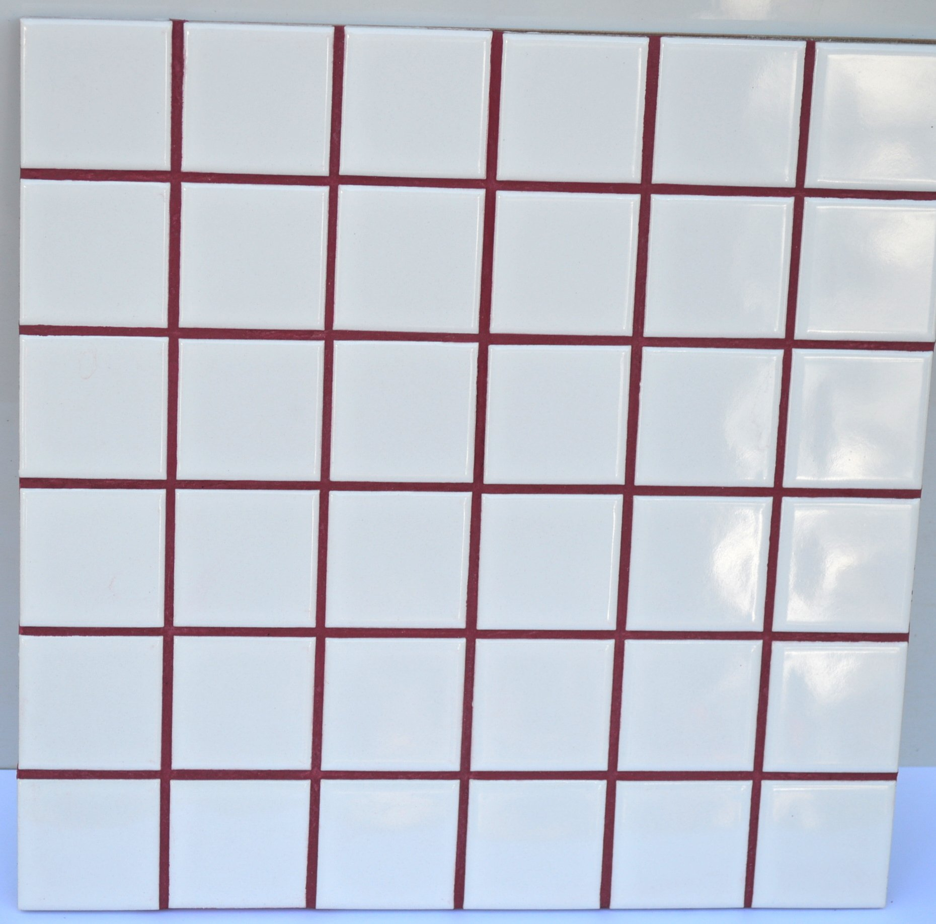 Wine Red Sanded Tile Grout - 5 lbs
