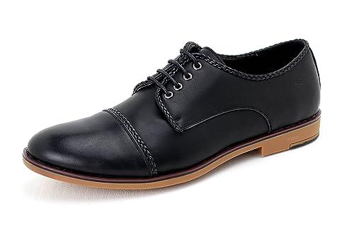Pour hommes oxford décontracté chaussures élégantes habilléà lacets