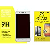 Rkmobiles Vivo Y55L Premium Tempered Glass, 9H Hardness Ultra Clear, Anti-Scratch, Anti-Fingerprints (For Vivo Y55L) + Free Cleaning Kit Inside