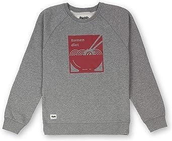 Brava Fabrics | Sudadera de Hombre | Sudadera Gris Sin Capucha ...