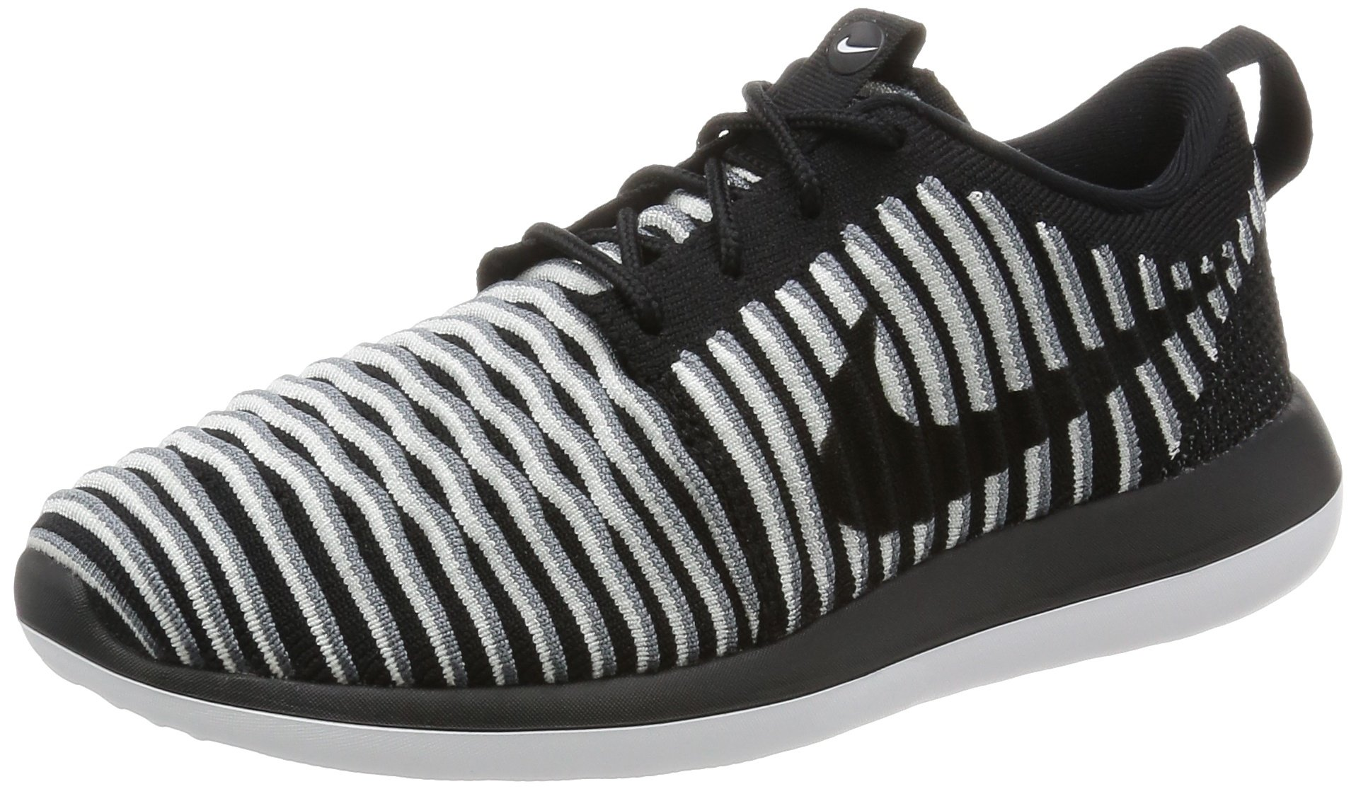 huge selection of c4720 c9b2c Galleon - Nike Women s Roshe Two Flyknit Black Textile Running Shoes 7.5