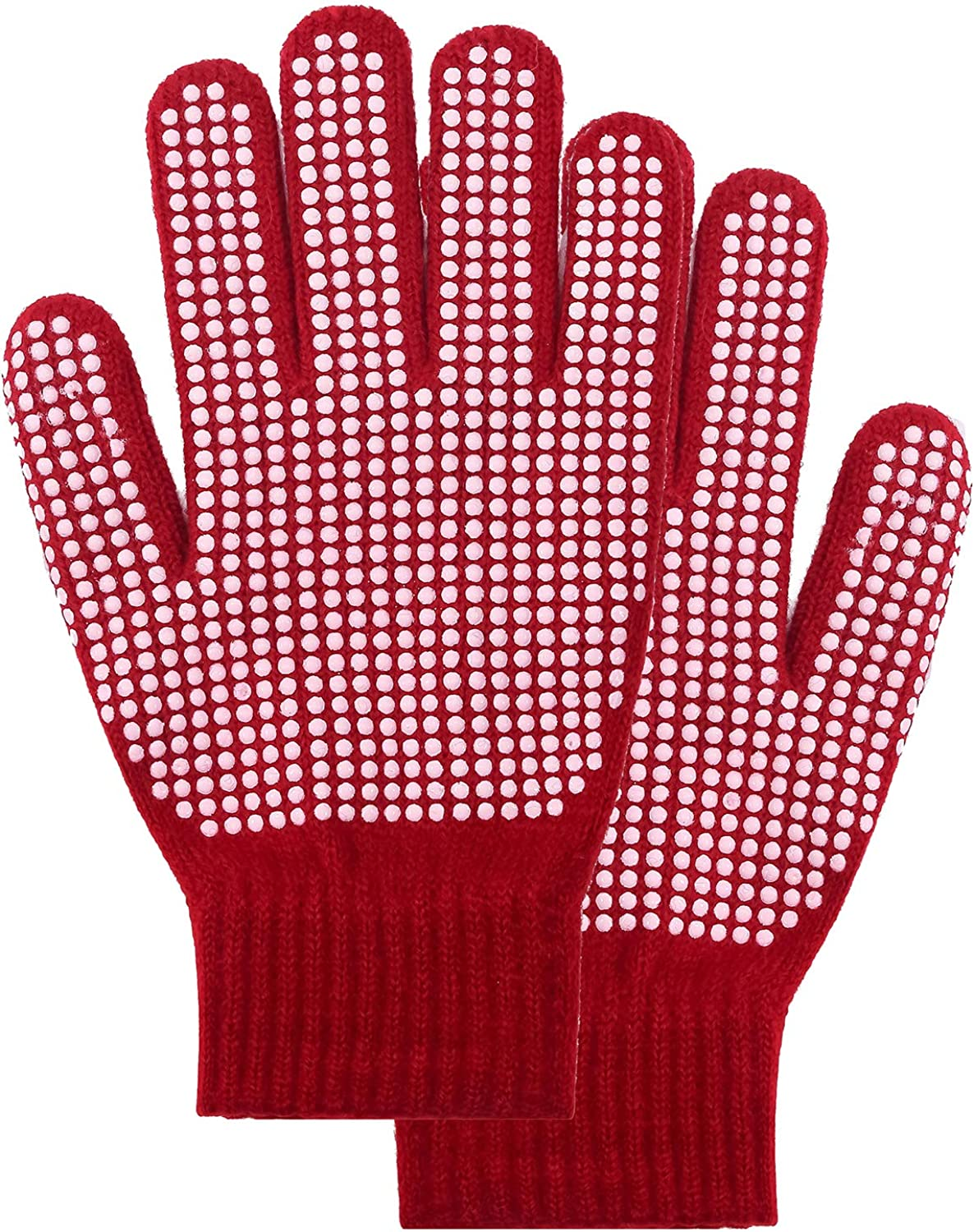 PZLE Knit Gloves With...
