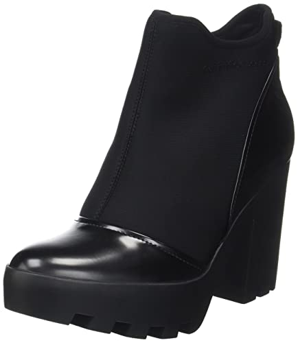 3ce42d1bedc9c Calvin Klein Women s Sibyl Neoprene Box Smooth Boots  Amazon.co.uk ...