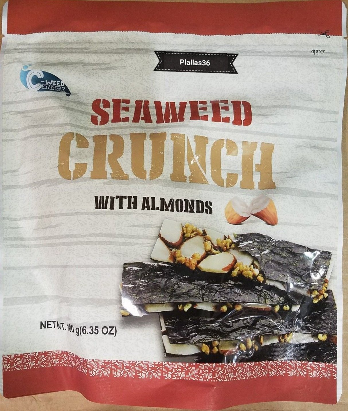 Seaweed Crunch with Almonds