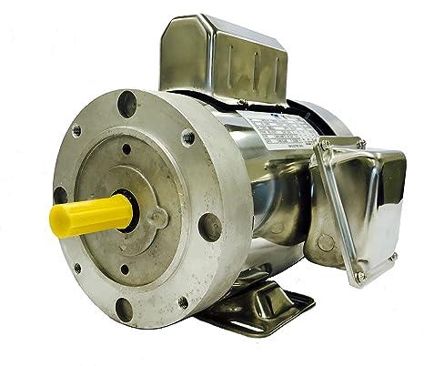 Amazon.com: GW YCN5654BX 1 HP Motor de elevación de barco de ...
