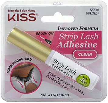 Kiss Ever EZ Lashes Strip Lash Adhesive Clear (KPLGL01)