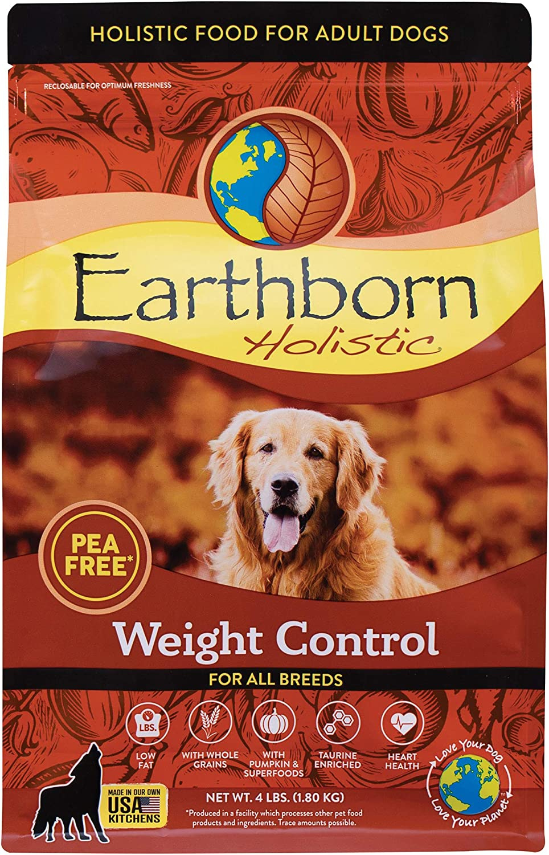 Earthborn Holistic Weight Control Dry Dog Food, 4 lb