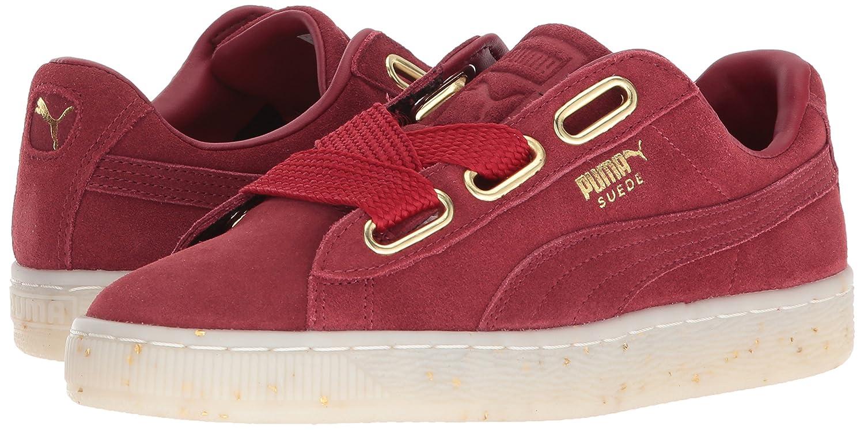 PUMA Women's Suede Heart Celebrate WN's Sneaker B074KJG6N1 9 B(M) US|Red Dahlia-red Dahlia-red Dahlia-red Dahlia
