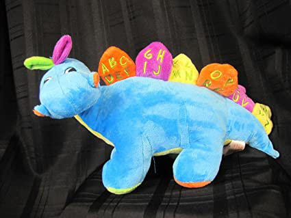 Amazon.com: Dan Dee Dino Dragon Plush Canta Canción del ...