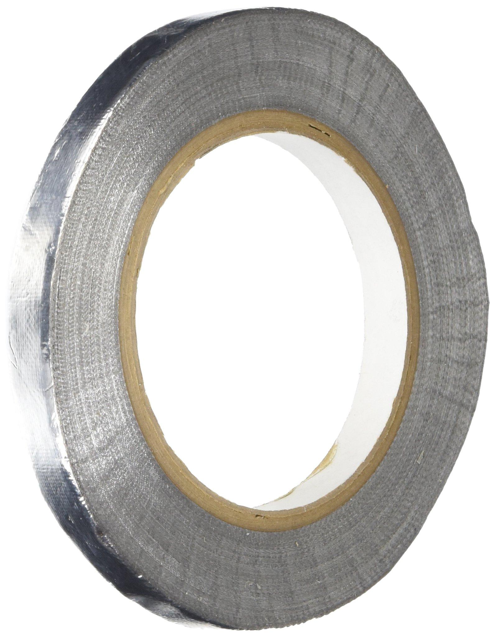 TapeCase TC955 Glass Cloth Aluminum Foil Tape 1/2'' x 36yds (1 Roll)