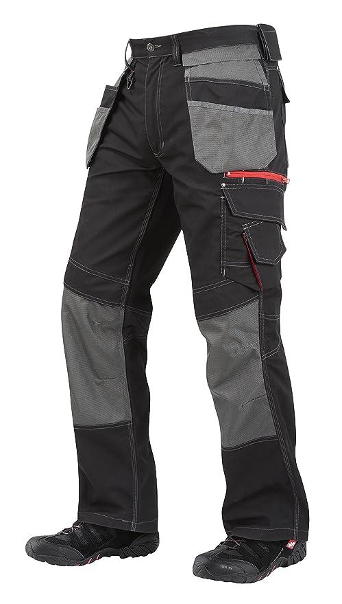 659fdad113 Lee Cooper Workwear LCPNT224 Work Wear Holster Pocket Cargo Work Trousers,  Black 36W: Amazon.co.uk: DIY & Tools