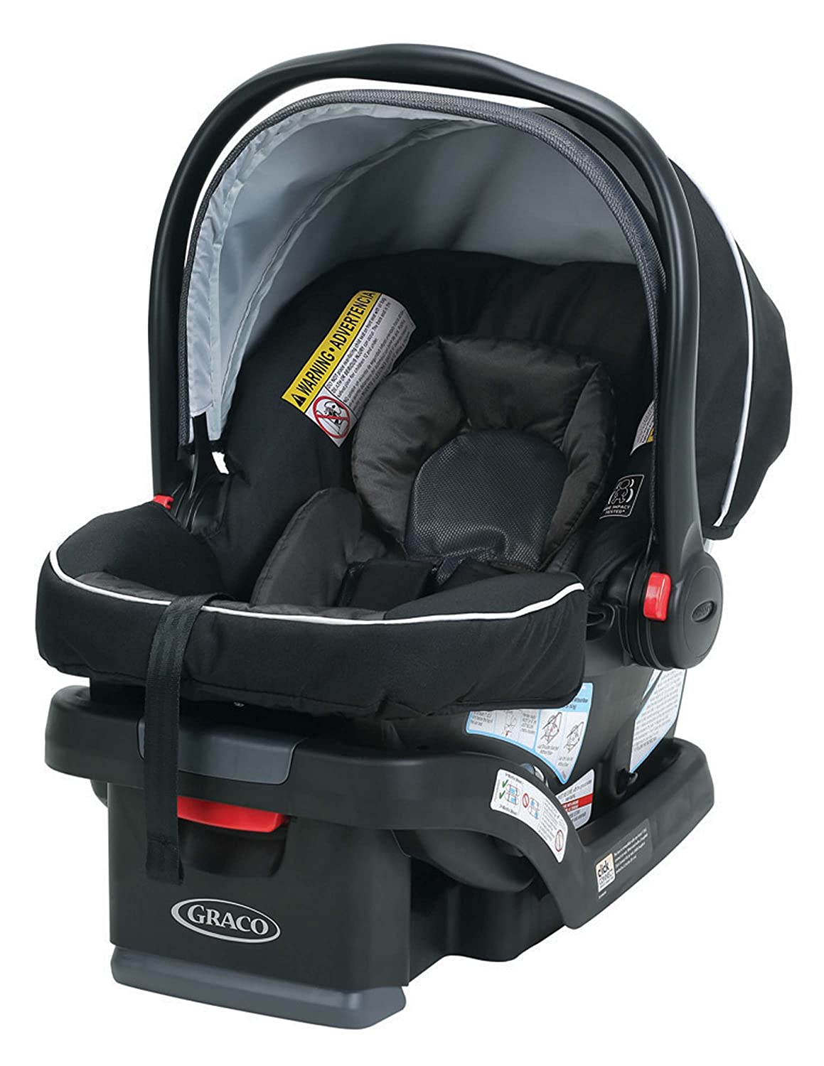Graco SnugRide Infant Car Seat, SnugLock 30 Gotham Graco Baby 2048585