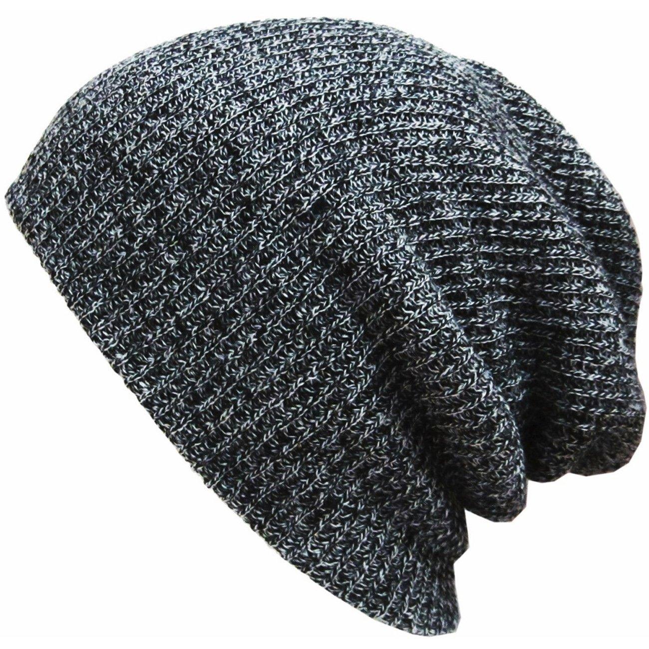 Thenice Berretto Uomo Cappello Invernale Beanie Hat Sportivo (Nero)
