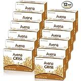 Avena Grisi Natural Oat Soap Balancing, 3.5 oz ( Pack of 12)