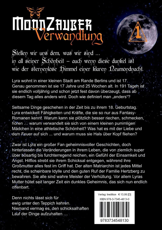 Verwandlung Part 1: MondZauber : Ein Kunstmärchen für ...