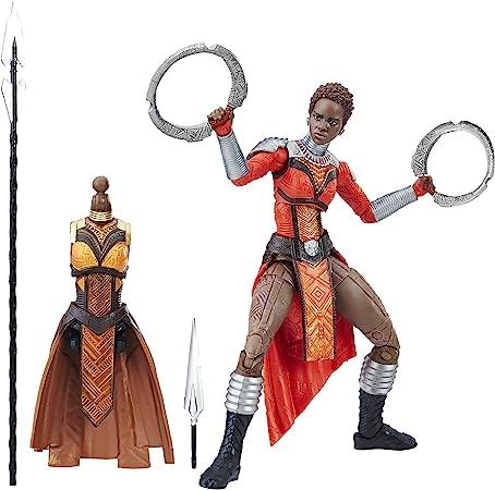 Marvel Black Panther Legends Series Nakia, 6-inch