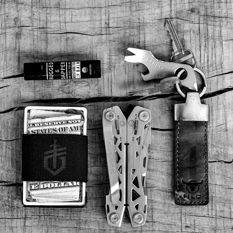 Gerber Barbill Wallet 30-001570 Money Clip Tool Grey