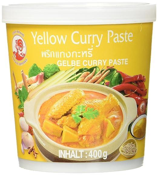 Cock Brand Pasta de Curry Amarilla - 400 gr