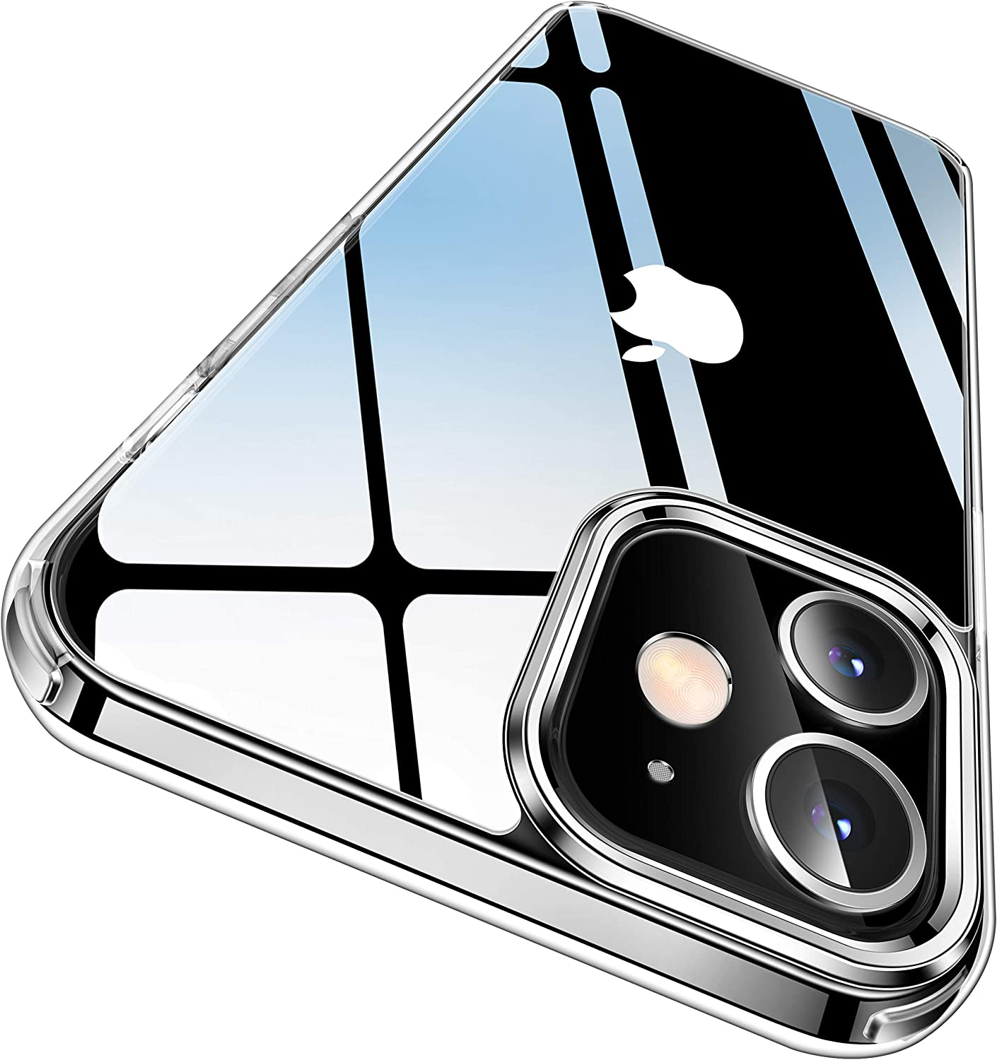 Casekoo Crystal Clear Designer Case for iPhone 12 and 12 Pro