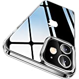 CASEKOO Crystal Clear Designed for iPhone 12 Case, iPhone 12 Pro Case, [Anti-Yellowing] [Military Grade Protection…