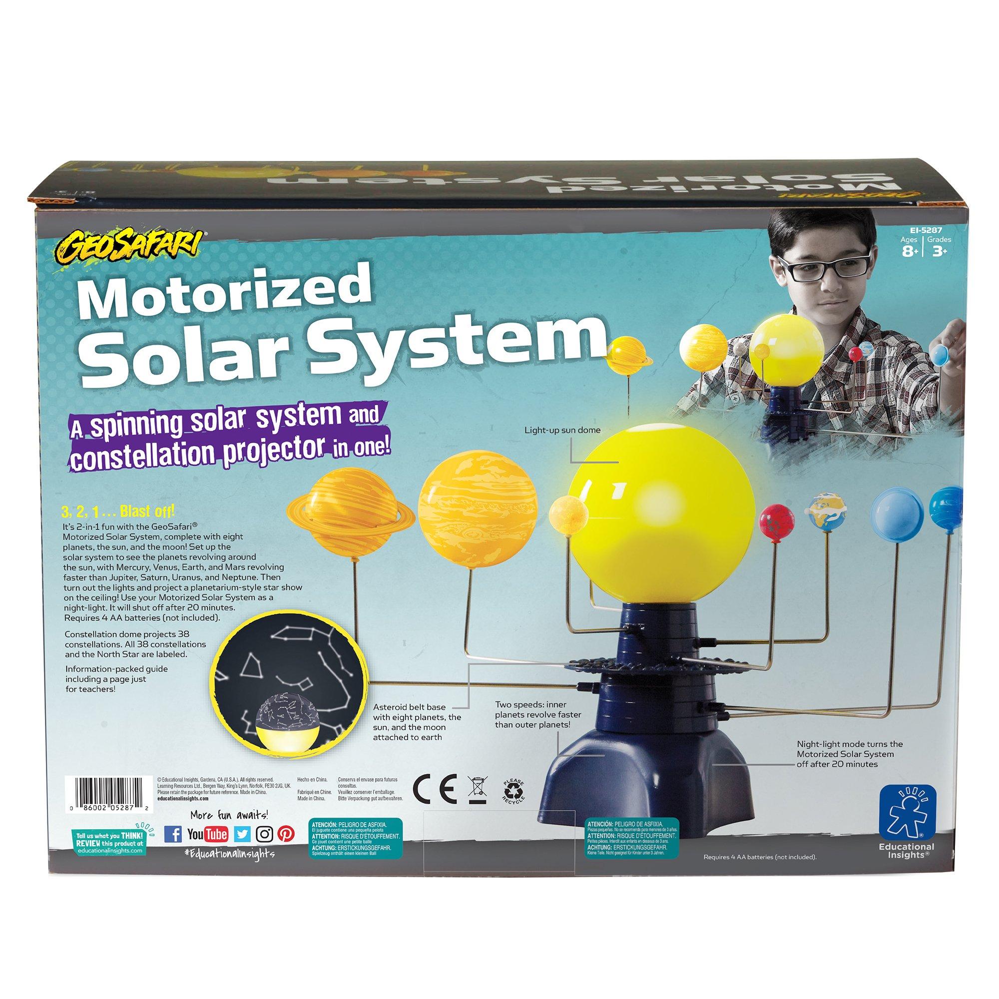 Educational Insights Geosafari Motorized Solar System Science Kit by Educational Insights (Image #5)