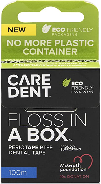 CareDent Floss in a Box Dental Tape