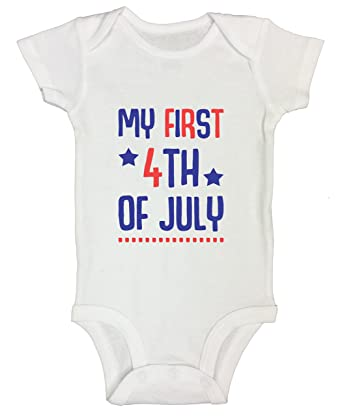 1c1c7ebf8 Amazon.com: 4th Of July Kids Kid Newborn Onesie