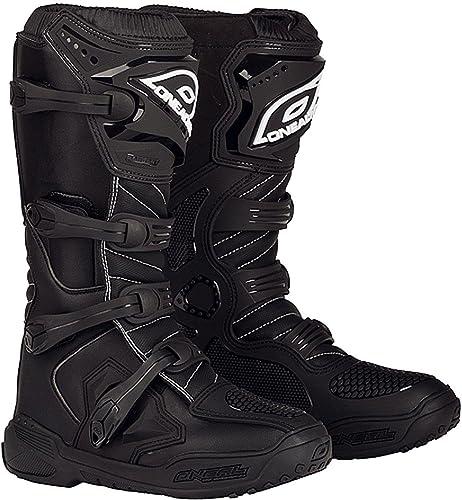 O Neal Element Iv Boot Mx Boots 0330 Steel Toe Uk Size 16 Black Schuhe Handtaschen