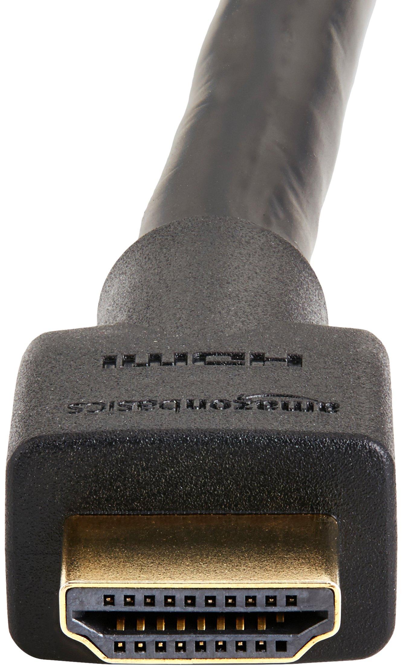 AmazonBasics TC4E_5 High-Speed HDMI Cable, 25 Feet, 5-Pack by AmazonBasics (Image #4)